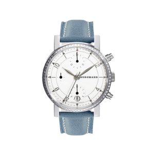 P100 Diamond Chronograph Medium Classic White