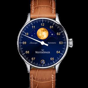 Lunascope Sonnenschliff Blau / Gold